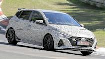 """<p>A tinier hot hatch from Hyundai is on the way.</p> <h3><a href=""""https://www.motor1.com/news/435479/hyundai-i20-n-spy-photos/"""" rel=""""nofollow noopener"""" target=""""_blank"""" data-ylk=""""slk:Hyundai i20 N Spied Again At Nurburgring As It Sheds Some Camo"""" class=""""link rapid-noclick-resp"""">Hyundai i20 N Spied Again At Nurburgring As It Sheds Some Camo</a></h3> <br><a href=""""https://www.motor1.com/news/420161/hyundai-i20-n-teaser-video/"""" rel=""""nofollow noopener"""" target=""""_blank"""" data-ylk=""""slk:Hyundai i20 N Tested On Frozen Lake In Official Teaser Video"""" class=""""link rapid-noclick-resp"""">Hyundai i20 N Tested On Frozen Lake In Official Teaser Video</a><br><a href=""""https://www.motor1.com/news/420065/hyundai-i20-n-spied-nurburgring/"""" rel=""""nofollow noopener"""" target=""""_blank"""" data-ylk=""""slk:Hyundai i20 N Spied In Motion Attacking The Nurburgring"""" class=""""link rapid-noclick-resp"""">Hyundai i20 N Spied In Motion Attacking The Nurburgring</a><br>"""