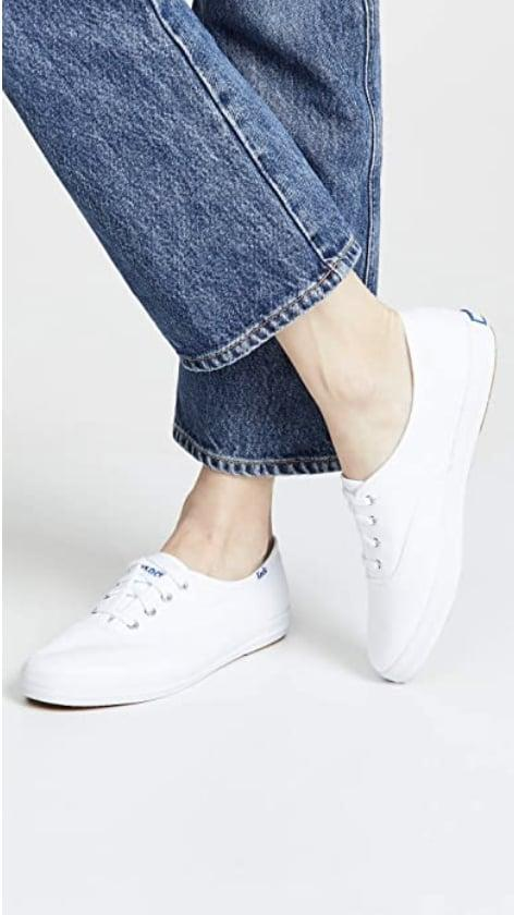 <p>You can never go wrong with a pair (or three) of these <span>Keds Canvas Sneakers</span> ($50-$111) in your daily rotation.</p>