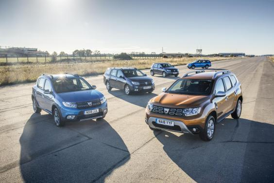 Dacia models enjoyed another record year