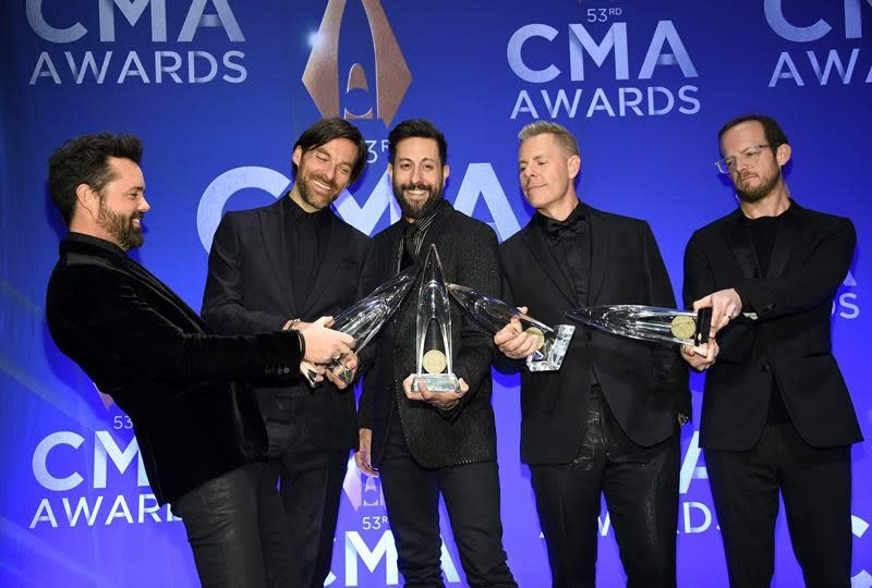 List of winners at the 2019 Country Music Association Awards