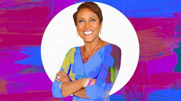 PHOTO: Robin Roberts, co-anchor of ABC's Good Morning America (ABC News Photo Illustration, Getty - oxygen)