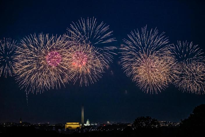Fourth of July weekend will be different this year, but the pandemic isn't stopping people from celebrating in a safe new way. (Photo: Getty Creative)