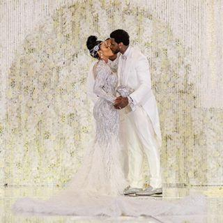 f30c18872 Gucci Mane's Bride Wore a Blinged-Out Wedding Dress With a Diamond ...
