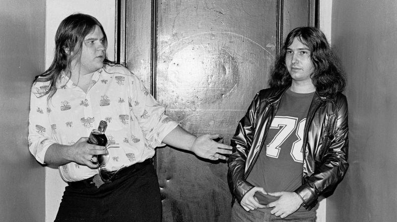 Meat Loaf and Jim Steinman in 1977