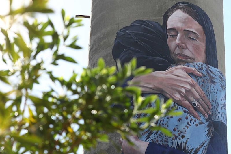 New Zealand PM Jacinda Ardern features in giant poignant mural tribute to Christchurch terror attacks