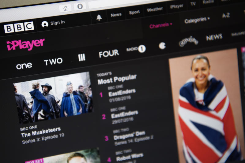 TV Licence Will Soon Be Required To Watch The BBC iPlayer Catch Up Service