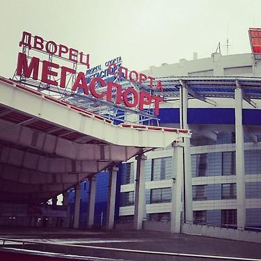 MegaSport complex in Moscow. (#NickInEurope)