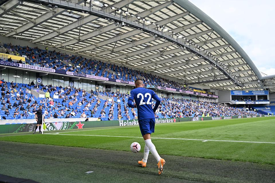 Some Premier League clubs may reject the return of fans due to the limited numbers (AFP via Getty)