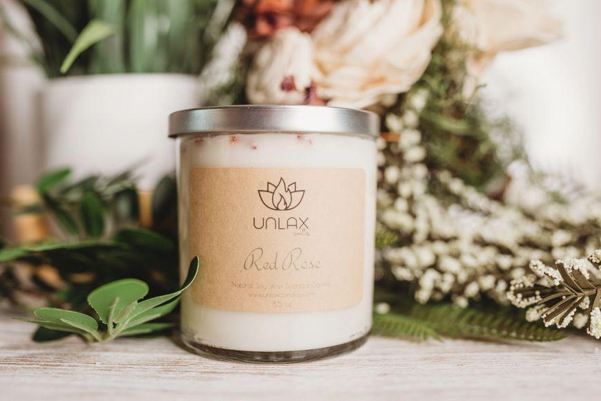 """<p><strong>Unlax Candles</strong></p><p>unlaxcandles.com</p><p><strong>$25.00</strong></p><p><a href=""""https://unlaxcandles.com/shop/ols/products/85-oz-red-rose"""" rel=""""nofollow noopener"""" target=""""_blank"""" data-ylk=""""slk:Shop Now"""" class=""""link rapid-noclick-resp"""">Shop Now</a></p><p>Now you can get that rose garden experience without actually having to walk through a rose garden.</p>"""