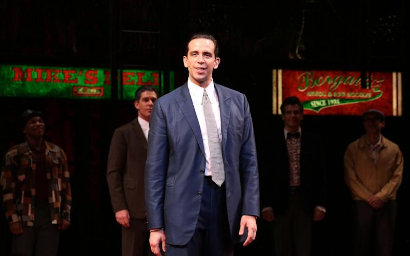 Nick Cordero during the Broadway Opening Night Perfomance Curtain Call for 'A Bronx Tale' - WireImage