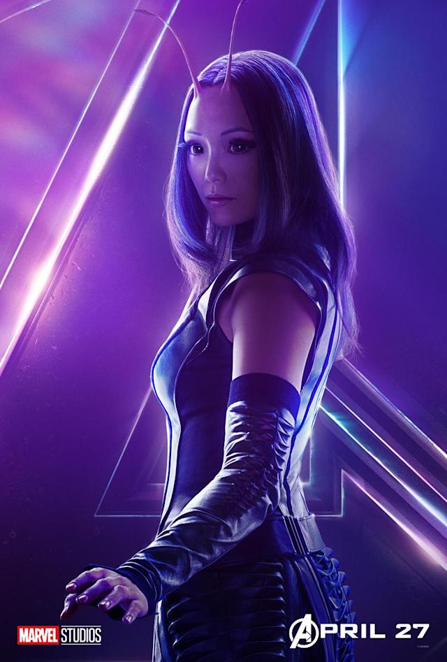 <p>Pom Klementieff is the empathic Guardian. (Photo: Marvel Studios) </p>