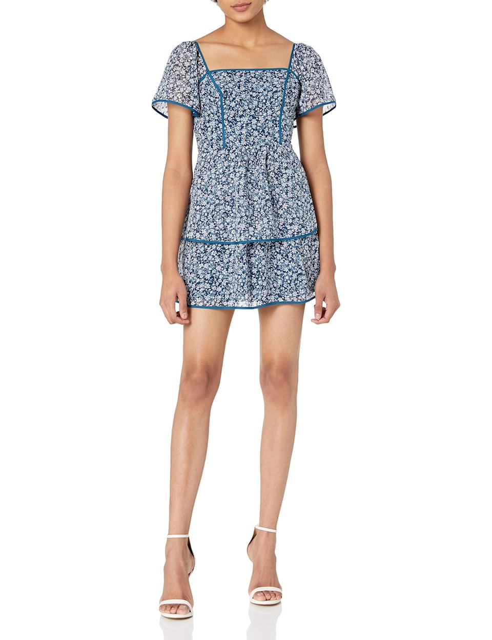 """<br><br><strong>Ali + Jay</strong> A-Line Dress, $, available at <a href=""""https://amzn.to/2XzJlqQ"""" rel=""""nofollow noopener"""" target=""""_blank"""" data-ylk=""""slk:Amazon Fashion"""" class=""""link rapid-noclick-resp"""">Amazon Fashion</a>"""