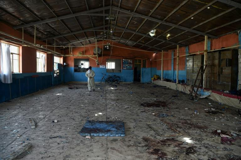 A suicide attack in a sports hall in Kabul targeted scores of wrestlers, some as young as 10