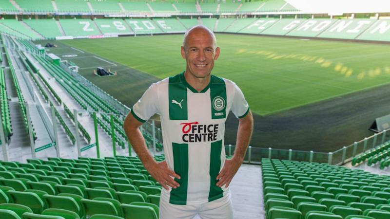 'The Last Dance' part of the pitch that sealed Robben's Groningen return