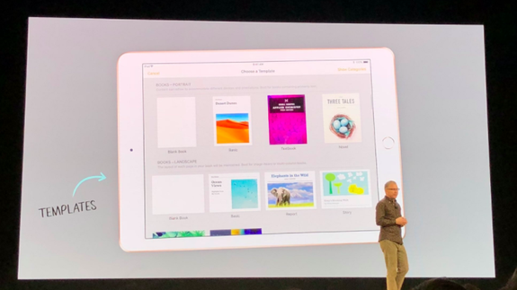 Apple updates iWork for new education-focused iPad