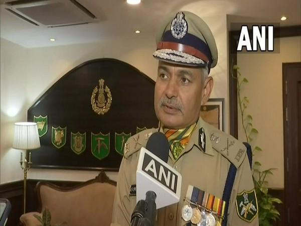 Outgoing ITBP DG SS Deswal speaking to ANI in New Delhi on Tuesday. [Photo/ANI]