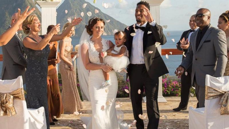NFL player and wife ask wedding guests to donate to animal rescue in lieu of gifts