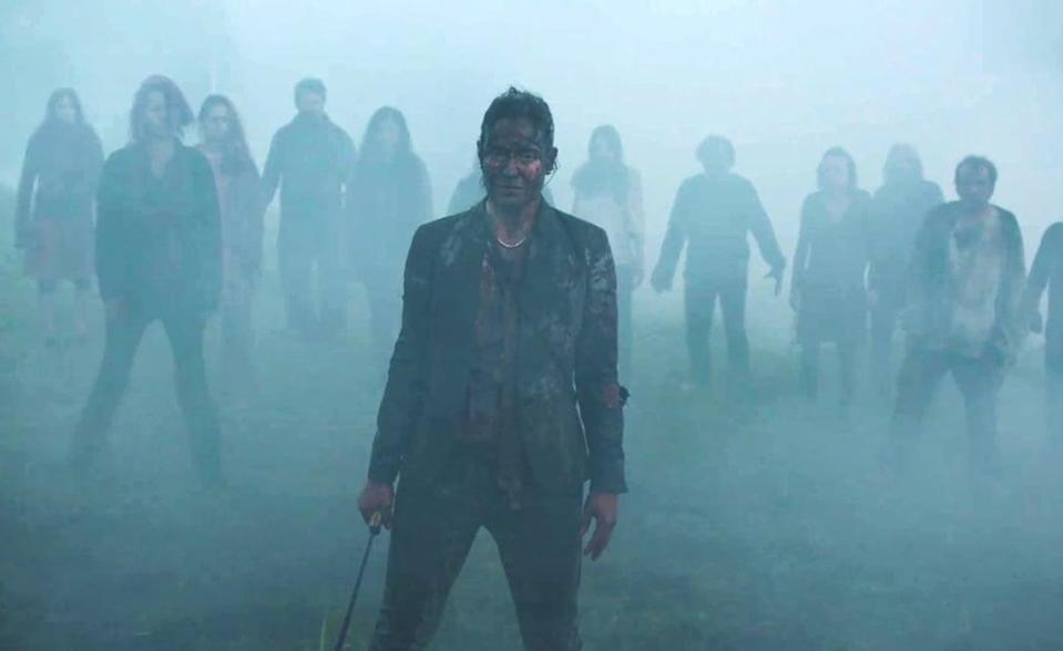 """<p><strong>What you're in for:</strong> This is actually a pretty introspective and beautiful movie, as far as films in the zombie genre go. That being said, watching a small group of desperate survivors attempt to navigate the aftermath of a zombie-like outbreak in rural Quebec is going to come with some nauseating moments.</p> <p><strong>Notable gore:</strong> It's a zombie movie, so prepare for free-flowing intestines and blood.</p> <p><a href=""""http://www.netflix.com/title/80218656"""" class=""""link rapid-noclick-resp"""" rel=""""nofollow noopener"""" target=""""_blank"""" data-ylk=""""slk:Watch Ravenous on Netflix."""">Watch <strong>Ravenous</strong> on Netflix.</a></p>"""
