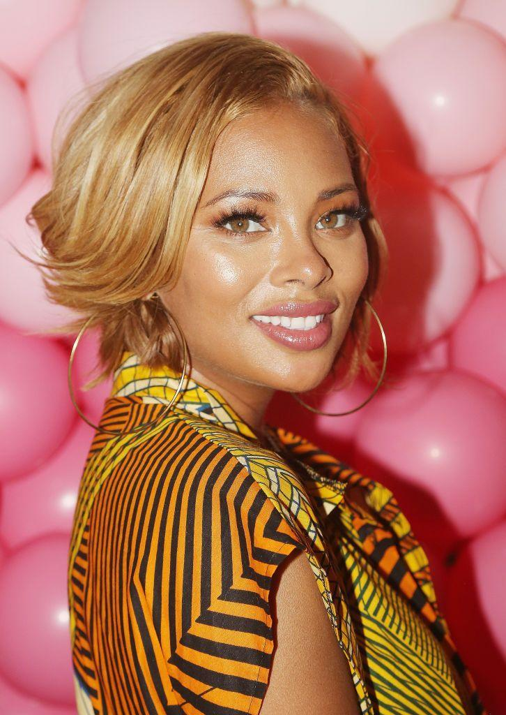 <p>Actress<strong> Eva Marcille </strong>has traversed the blonde spectrum for years, and each season she revs it up for the fall months. We're loving the high gloss effect from this sunrise blonde hue that beautifully complements both her skin tone and eyes.</p>