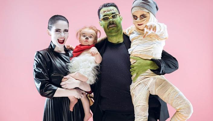 These family Halloween costumes are spook-tacularly easy to pull off!