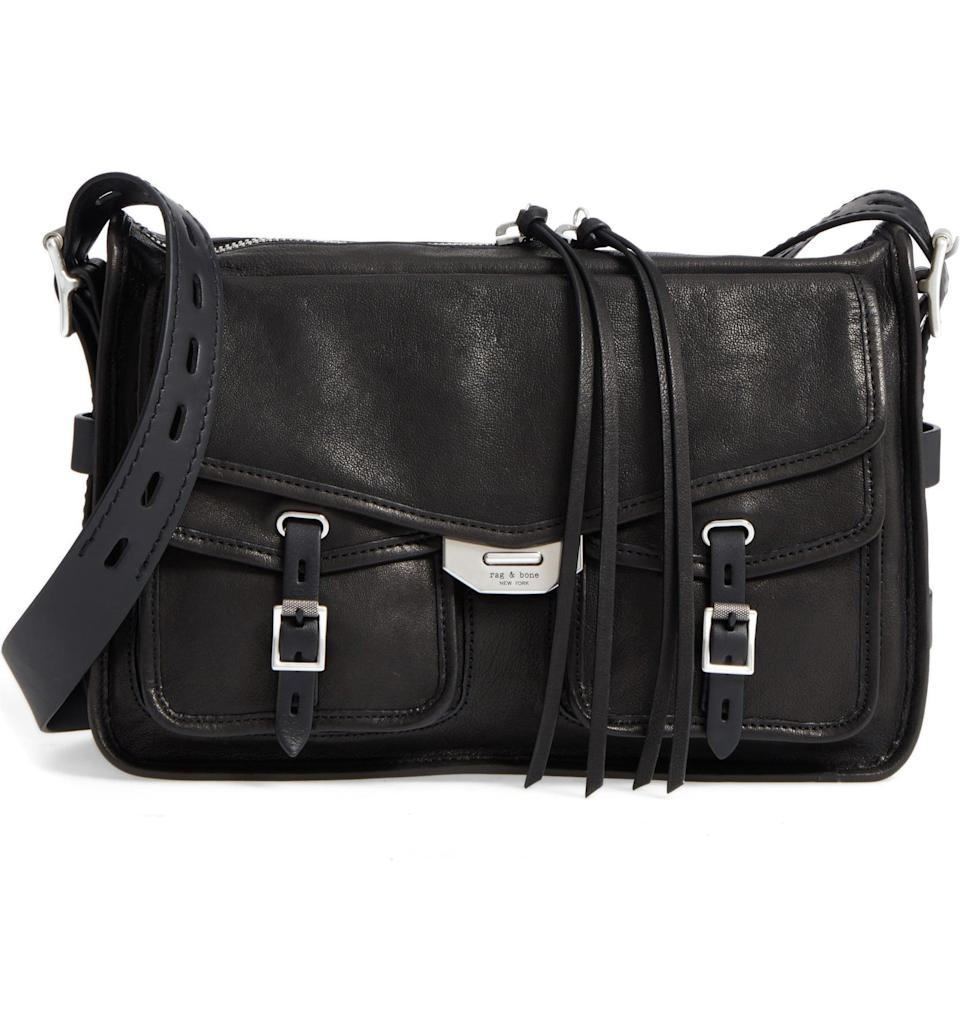 <p>Don't let your bag weigh you down when you're on the go, thanks to this <span>Rag &amp; Bone Field Leather Messenger Bag</span> ($695). It's so easy to carry around, and goes with everything.</p>