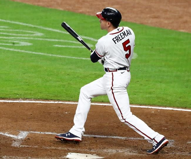 Braves quickly set franchise mark for most runs in game