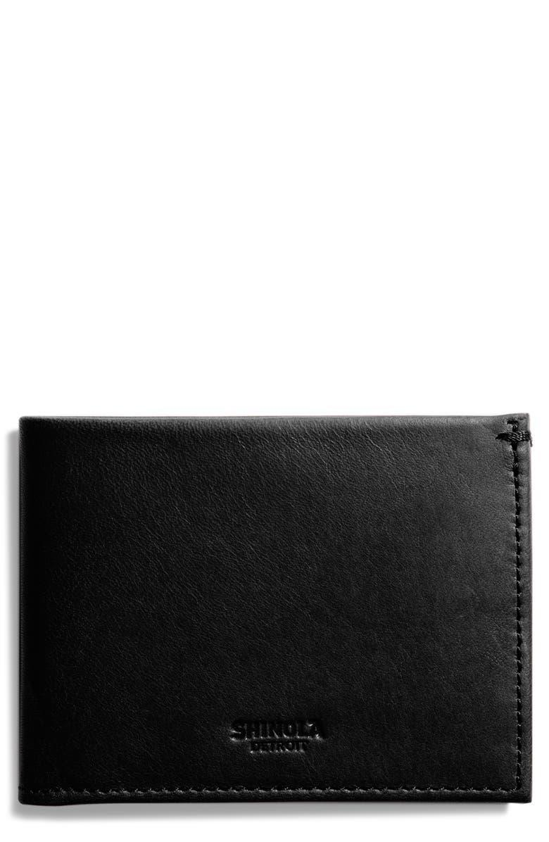 """<h2>Shinola Slim Leather Bifold Wallet</h2><br><strong>Under $200</strong><br>When is your dad not carrying around an overstuffed, bursting-at-the-seams leather wallet? It's time for a new one — and, even better, time to splurge on one he'd never buy for himself.<br><br><em>Shop Shinola at <strong><a href=""""https://www.nordstrom.com/brands/shinola--9304"""" rel=""""nofollow noopener"""" target=""""_blank"""" data-ylk=""""slk:Nordstrom"""" class=""""link rapid-noclick-resp"""">Nordstrom</a></strong></em><br><br><strong>Shinola</strong> Slim Bifold Leather Wallet, $, available at <a href=""""https://go.skimresources.com/?id=30283X879131&url=https%3A%2F%2Fwww.nordstrom.com%2Fs%2Fshinola-slim-bifold-leather-wallet%2F4177258"""" rel=""""nofollow noopener"""" target=""""_blank"""" data-ylk=""""slk:Nordstrom"""" class=""""link rapid-noclick-resp"""">Nordstrom</a>"""
