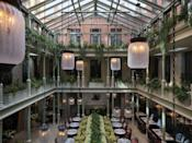 """<p>Whether you live in London or simply can't get enough of the capital's offerings then you'll undoubtedly have already heard about the city's new staycation obsession - Nomad London. </p><p>Opened in May in the Grade II-listed building previously know as The Bow Street Magistrates' Court and Police Station, the Covent Garden sight offers several room offerings, from Classic to Royal Opera Suite, with luxe and modern interiors. While guests might be in walking distance to the Royal Opera House and Oxford Street, we suggest dining in the hotel's restaurant and bar, Side Hustle (NoMad's take on the classic British pub) or drink cocktails in the Library.</p><p>This June, the hotel has partnered with the London Design Biennale to offer a special stay and visit package. Find out more <a href=""""https://www.thenomadhotel.com/london/offers/"""" rel=""""nofollow noopener"""" target=""""_blank"""" data-ylk=""""slk:here"""" class=""""link rapid-noclick-resp"""">here</a>.</p><p><a class=""""link rapid-noclick-resp"""" href=""""https://www.thenomadhotel.com/london/"""" rel=""""nofollow noopener"""" target=""""_blank"""" data-ylk=""""slk:BOOK HERE"""">BOOK HERE</a></p>"""