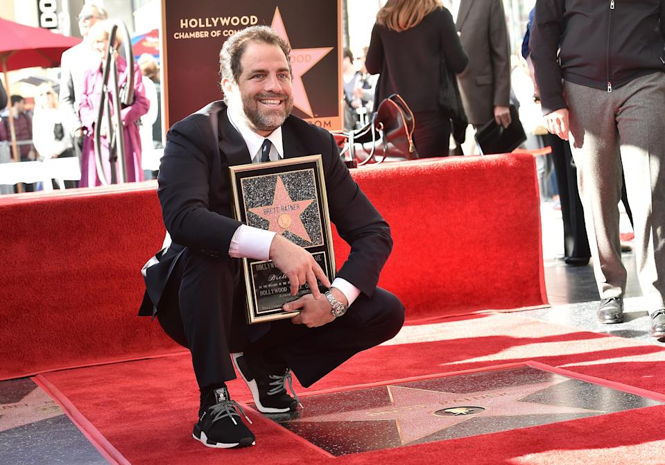 Brett Ratner receives a star on the Hollywood Walk of Fame in January 2017. (Photo: Getty Images)