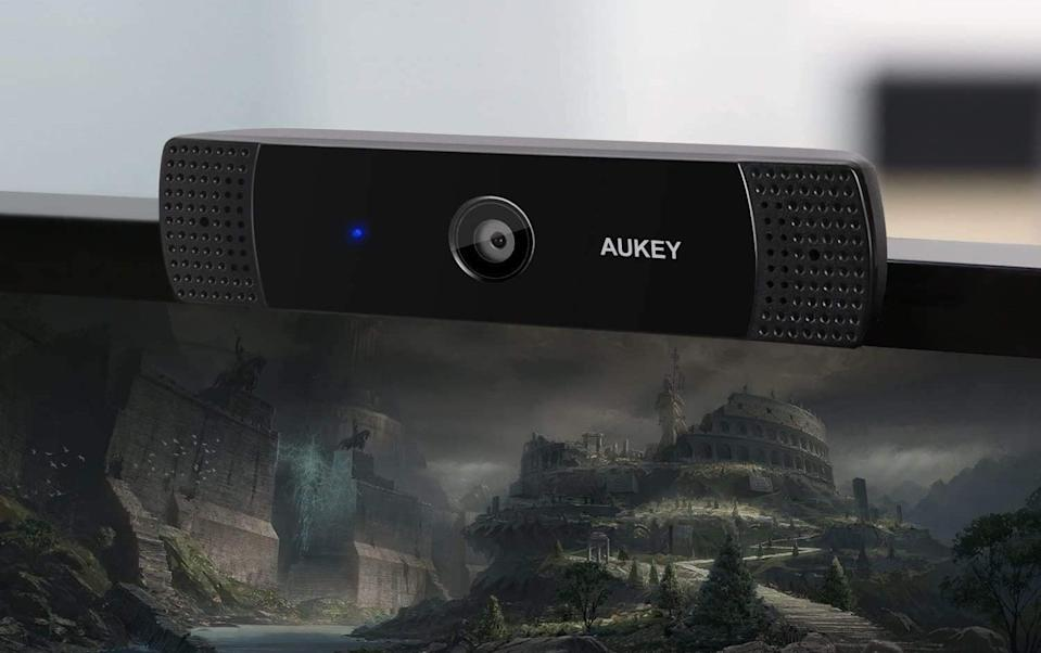 Get this AUKEY FHD Webcam for just $60. (Photo: AUKEY)
