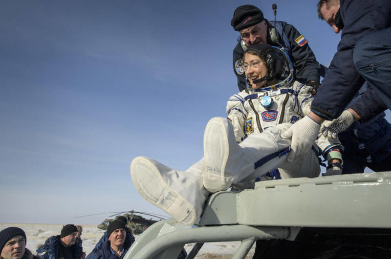 Expedition 61 Soyuz Landing