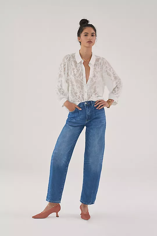 """<h2>Pilcro The Breaker Relaxed Jeans</h2><br>""""I simply cannot do jeans during the summer. That's why I'm so excited to get to wear them this fall. I definitely need more relaxed fit jeans in my life so these Anthropologie Pilcro ones seem perfect. The blue wash is one I don't have in my closet right now, so this is a definite must-have."""" –<em> Mercedes Viera, Associate Deals Writer </em><br><br><em>Shop </em><a href=""""https://www.anthropologie.com/trend-pilcro-journal?feature-product-ids=AN-4122527680009-000"""" rel=""""nofollow noopener"""" target=""""_blank"""" data-ylk=""""slk:Pilcro at Anthropologie"""" class=""""link rapid-noclick-resp""""><em>Pilcro at Anthropologie</em></a><br><br><strong>Pilcro</strong> Pilcro The Breaker Relaxed Jeans, $, available at <a href=""""https://go.skimresources.com/?id=30283X879131&url=https%3A%2F%2Fwww.anthropologie.com%2Fshop%2Fpilcro-the-breaker-relaxed-jeans4%3Fcolor%3D092%26type%3DSTANDARD%26quantity%3D1"""" rel=""""nofollow noopener"""" target=""""_blank"""" data-ylk=""""slk:Anthropologie"""" class=""""link rapid-noclick-resp"""">Anthropologie</a>"""