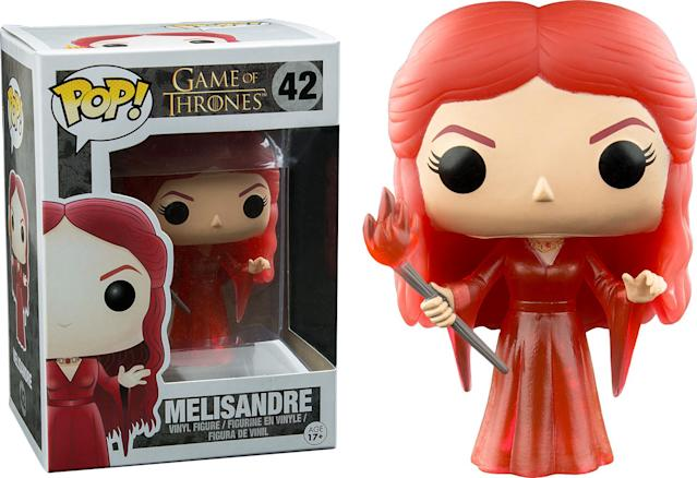 <p>Perhaps correctly, they decided to emphasize her magic rather than go with the more accurate variation: Very, Very, Very Old Melisandre. </p>