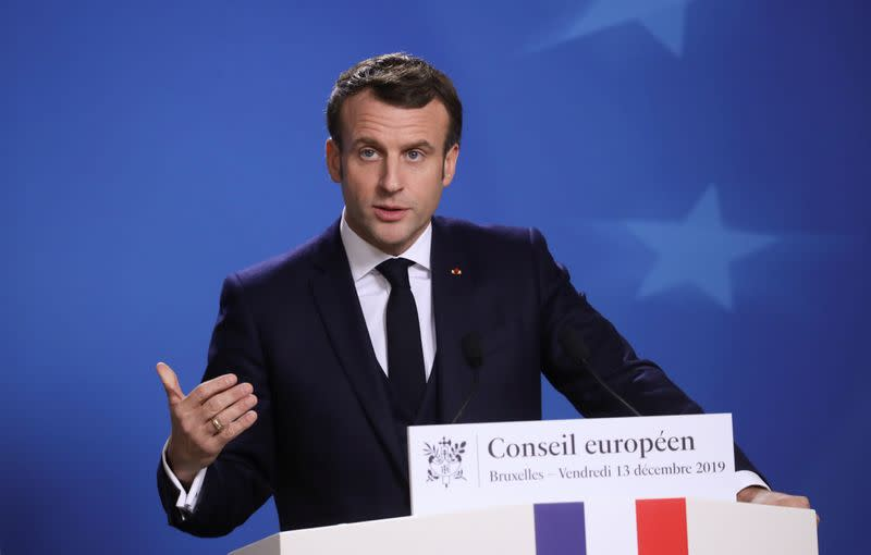France's Macron: I want solid ties with post-Brexit Britain