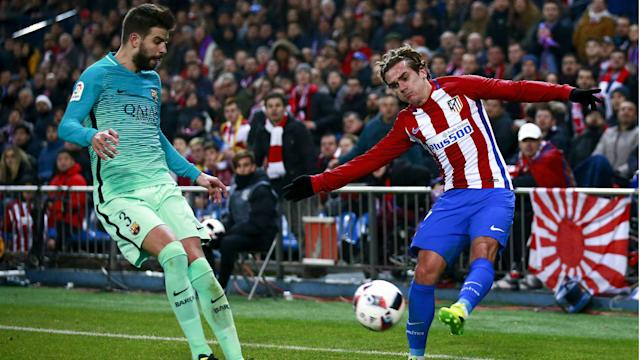 The club will probe the involvement of the defender and Samuel Umtiti in the forward's decision to stay at Atletico Madrid