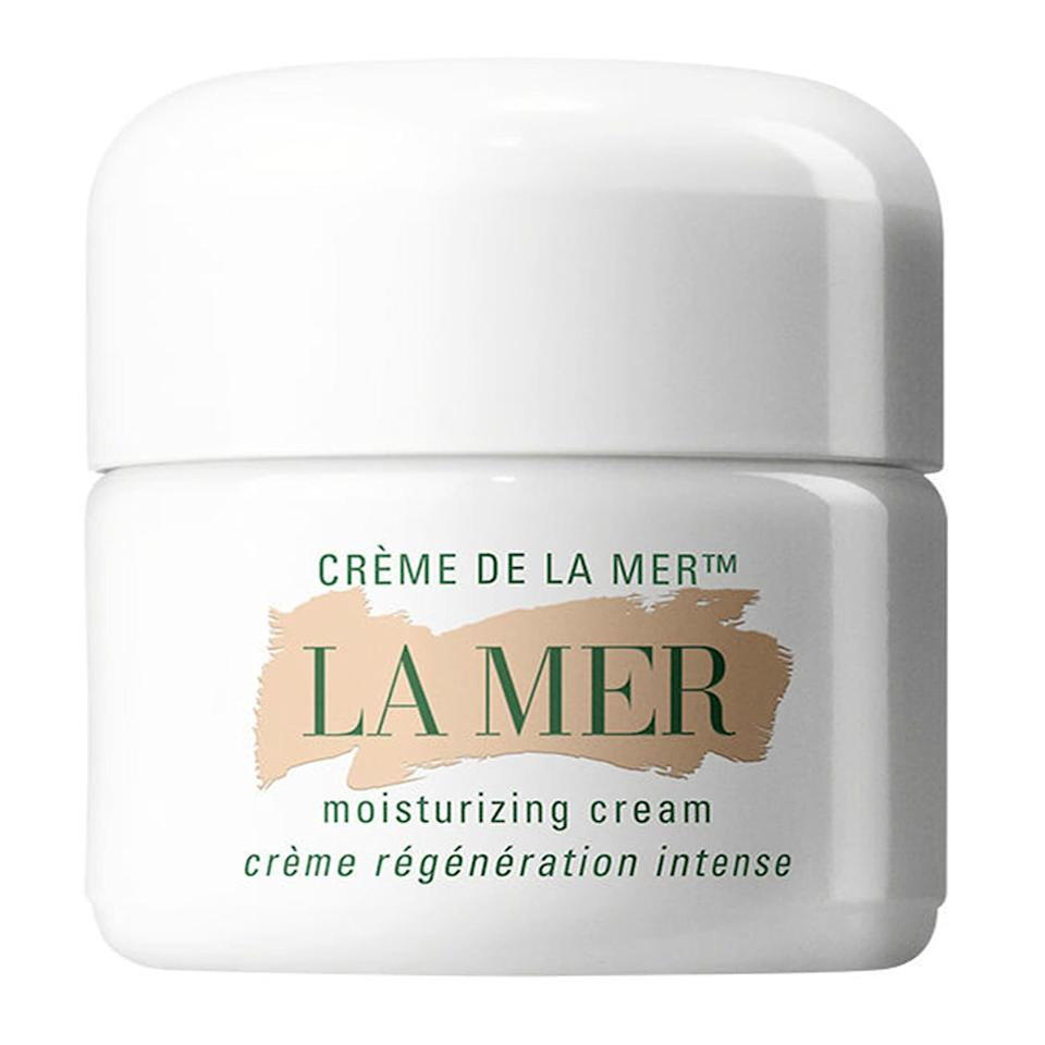 "<p>A rich cream designed to moisturize, this product works wonders on dry, damaged skin. It's perfect for the winter months when skin is typically more dried out from harsh weather conditions.</p> <p><strong>To buy:</strong> from $77 (was from $90); <a href=""https://click.linksynergy.com/deeplink?id=93xLBvPhAeE&mid=1237&murl=http%3A%2F%2Fshop.nordstrom.com%2Fs%2Fcreme-de-la-mer-moisturizing-cream%2F3057002&u1=RS%2CTonsofLaMerSkincareProductsAreonSaleatNordstromRightNow%2Cmgandara805%2CSKI%2CIMA%2C682229%2C201910%2CI"" target=""_blank"">nordstrom.com</a></p>"