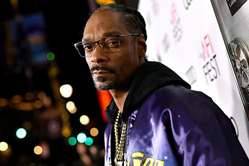 Snoop Dogg on 14 November 2019 in Hollywood, California: Emma McIntyre/Getty Images