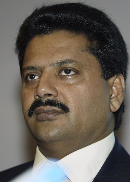 T. Venkattram Reddy, seen during Farnborough Air Show, in England, on July 19, 2006 (AFP Photo/Leon Neal)