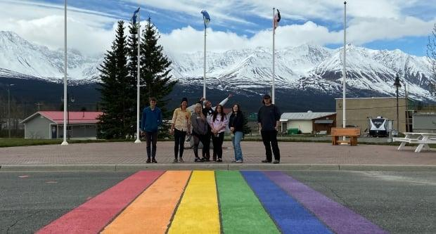 'I think inclusivity is very important and making people feel safe is very important,' says Annika Eckervogt-Brewster. (Submitted by Sarah Monique Chanona - image credit)