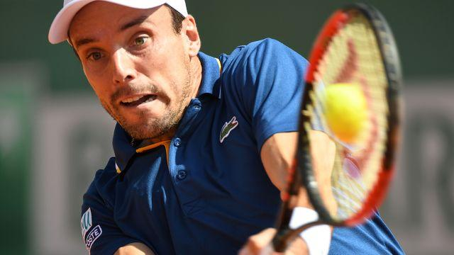 Bautista Agut in action. Image: Getty