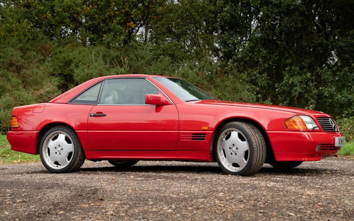 Mercedes SL (R129 version) - Andrew Crowley