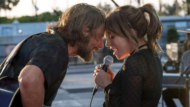 PHOTO: Bradley Cooper and Lady Gaga in the drama 'A Star is Born,' from Warner Bros. Pictures. (Warner Bros.)