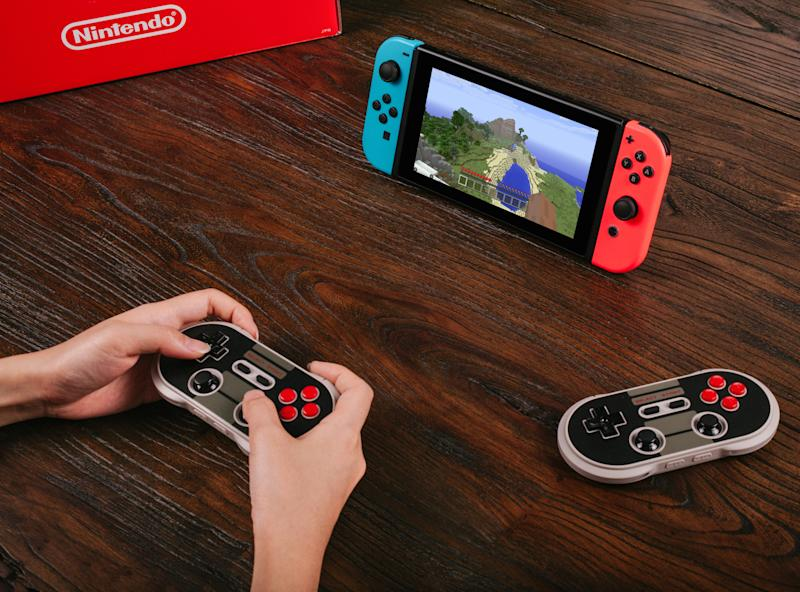 8bitdo S Retro Bluetooth Controllers Now Work With Nintendo