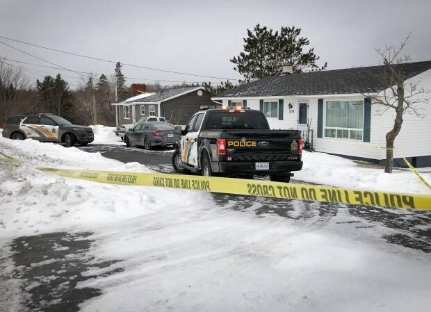 Cape Breton regional police have charged a 73-year-old man in the death of a 71-year-old woman in Howie Centre, N.S. (Tom Ayers/CBC - image credit)