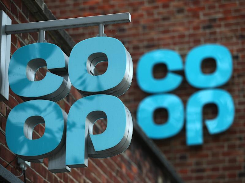 The Co-op already sources 100 per cent of the energy for its stores from 'renewable sources' and plans to make improvements in its supply chain: Reuters