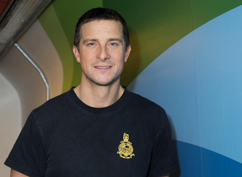 """LONDON, ENGLAND - OCTOBER 06: Bear Grylls poses after his Q&A at """"Bear Grylls: Endeavour"""" at SSE Arena Wembley on October 6, 2016 in London, England. (Photo by Dave J Hogan/Dave J Hogan/Getty Images)"""