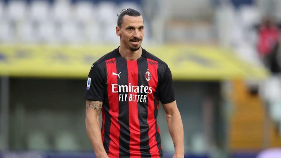 Zlatan Ibrahimovic, attaccante del Milan | Jonathan Moscrop/Getty Images