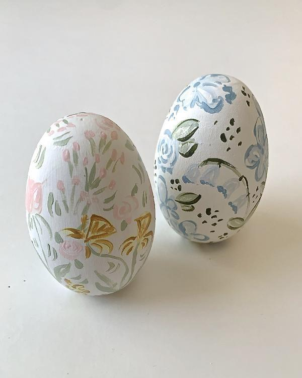 "<p>towncountrycoast.com</p><p><strong>$48.00</strong></p><p><a href=""https://towncountrycoast.com/products/copy-of-hand-painted-wooden-eggs-scalloped-stripe-1"" rel=""nofollow noopener"" target=""_blank"" data-ylk=""slk:Shop Now"" class=""link rapid-noclick-resp"">Shop Now</a></p><p>These sweet hand painted eggs from <a href=""https://towncountrycoast.com/"" rel=""nofollow noopener"" target=""_blank"" data-ylk=""slk:Town Country Coast"" class=""link rapid-noclick-resp"">Town Country Coast</a> are just the pop of color needed for an egg carrier or decorating a bare tree.</p>"