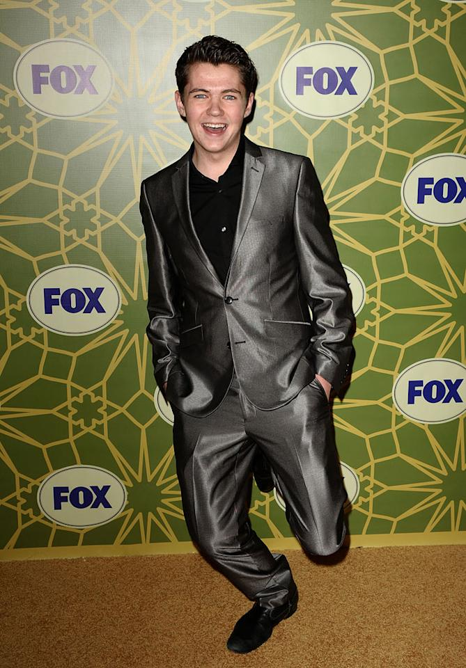 """Damian McGinty (""""<a href=""""/glee/show/44113"""">Glee</a>"""") attends the 2012 Fox Winter TCA All-Star Party at Castle Green on January 8, 2012 in Pasadena, California."""