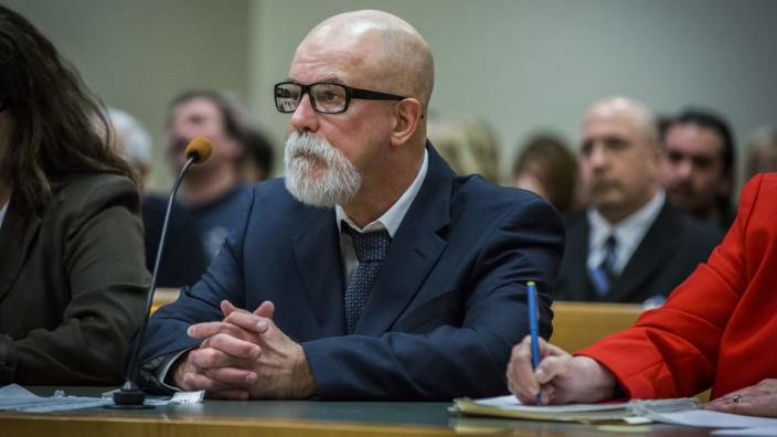 """<div class=""""inline-image__caption""""><p>David Weinberg, 58, convicted in 1988 and sentenced to 60 years in prison for the murder of Joyce Stochmal in 1984, was ordered released from prison in 2017. His case was the subject of investigation by the Connecticut Innocence Project.</p></div> <div class=""""inline-image__credit"""">Lauren Schneiderman/Hartford Courant via AP</div>"""